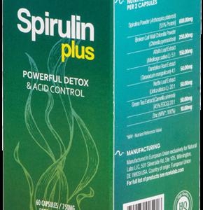 Spirulin Plus- Skuteczny detoks bez męczących głodówek? Efektywne odkwaszanie organizmu bez katorżniczych wyrzeczeń? Tak, to możliwe!