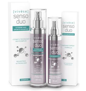 Vivese Senso Duo Shampoo – Osłabione włosy? Potrzebujesz specyfiku, który zlikwiduje ten problem i polepszy stan Twoich włosów raz na zawsze? To znalazłaś!
