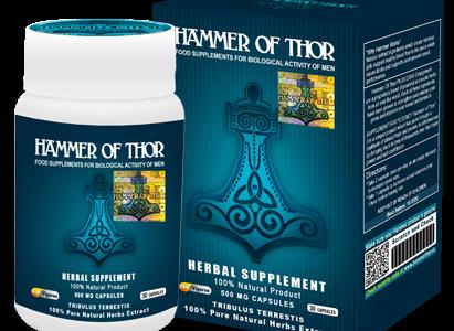 Hammer of Thor – wspaniały środek, który poradzi sobie z wszelakim zaburzeniem wzwodu.